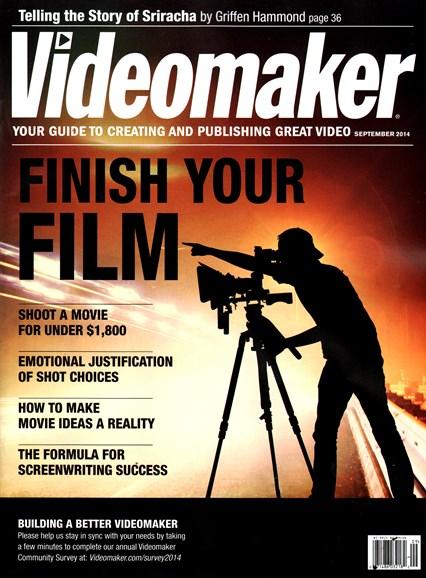 Videomaker Cover - 9/1/2014