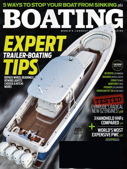 Boating Cover - 9/1/2014