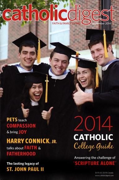 Catholic Digest Cover - 9/1/2014