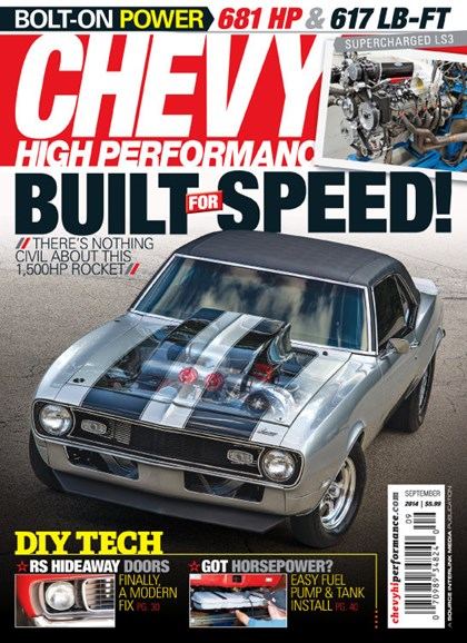 Chevy High Performance Cover - 9/1/2014