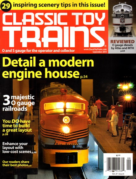 Classic Toy Trains Cover - 9/1/2014