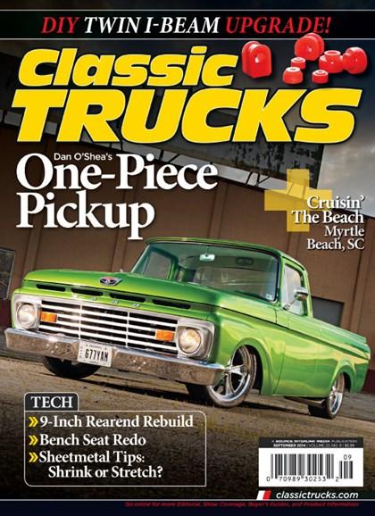 Classic Trucks Cover - 9/1/2014