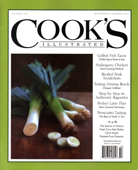 Cook's Illustrated Cover - 9/1/2014