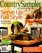 Country Sampler Magazine 9/1/2014