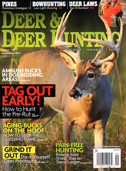 Deer & Deer Hunting Cover - 9/1/2014