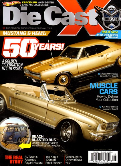 Diecast X Cover - 9/1/2014