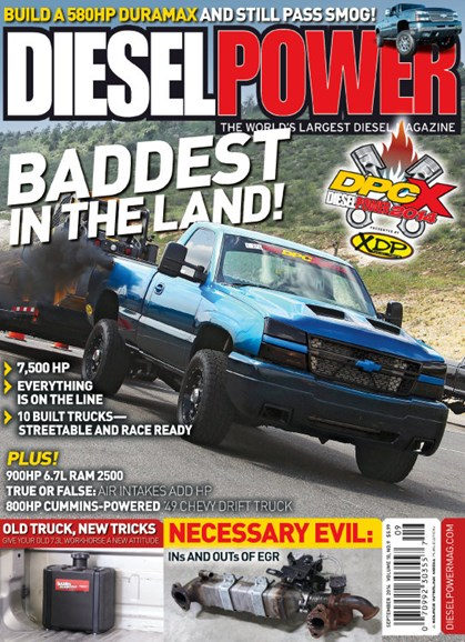 Diesel Power Cover - 9/1/2014