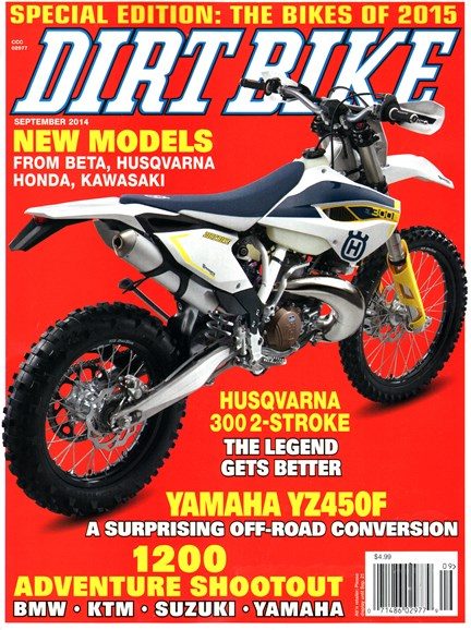 Dirt Bike Cover - 9/1/2014