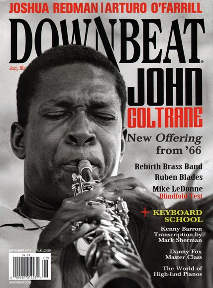 DownBeat Cover - 9/1/2014