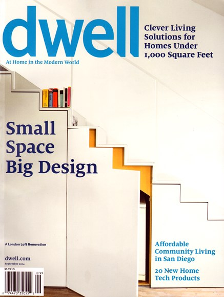 Dwell Cover - 9/1/2014