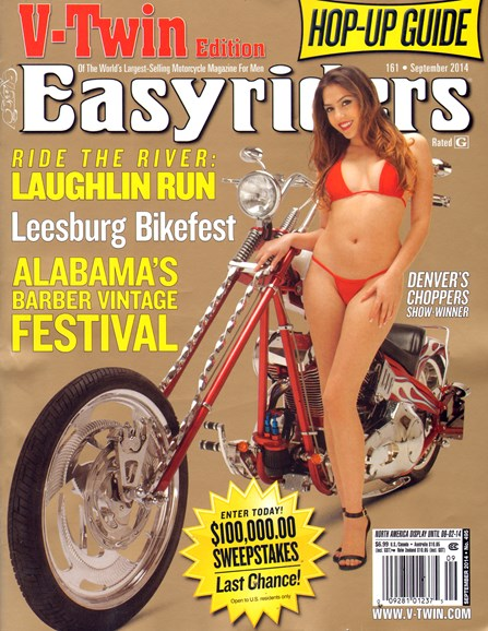 Easyriders Cover - 9/1/2014