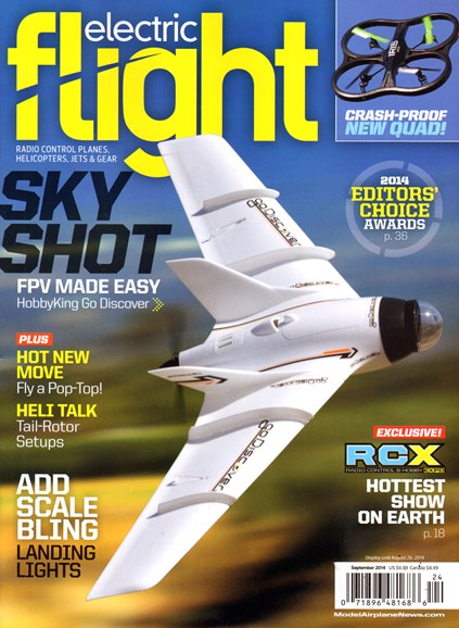 Electric Flight Cover - 9/1/2014
