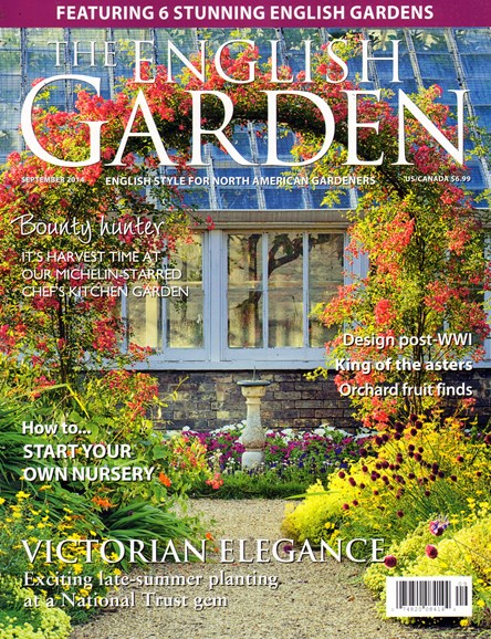The English Garden Cover - 9/1/2014