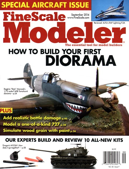 Finescale Modeler Cover - 9/1/2014
