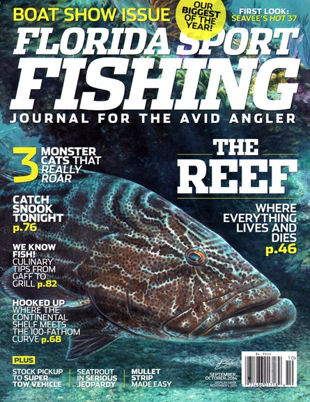 Florida Sport Fishing Cover - 9/1/2014