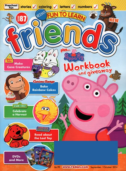 Preschool Friends Cover - 9/1/2014