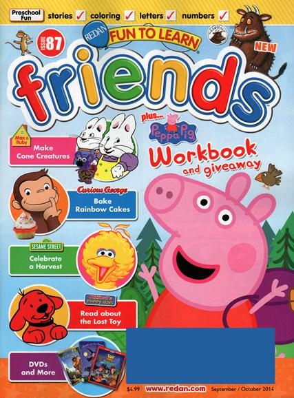 Preschool Friends Cover - 9/1/2014