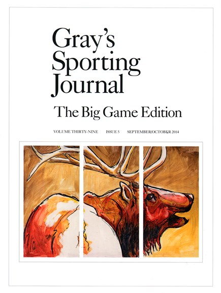 Gray's Sporting Journal Cover - 9/1/2014