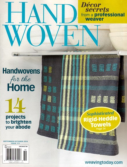 Handwoven Cover - 9/1/2014