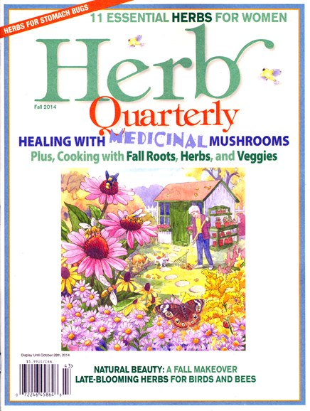 Herb Quarterly Cover - 9/1/2014
