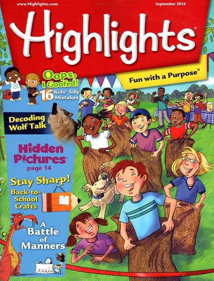 Highlights Cover - 9/1/2014