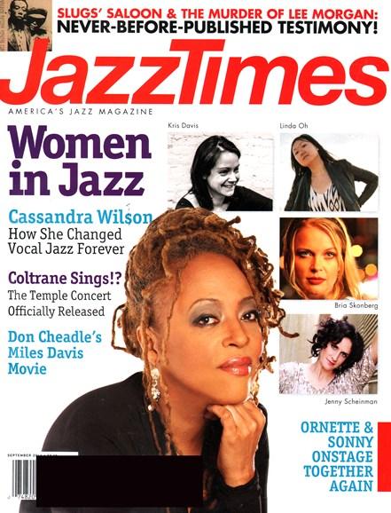 JazzTimes Cover - 9/1/2014
