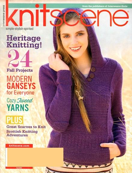 Knitscene Cover - 9/1/2014