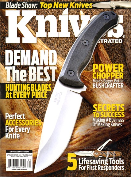 Knives Illustrated Cover - 9/1/2014
