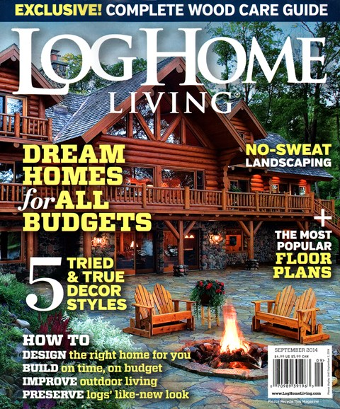 Log Home Living Cover - 9/1/2014