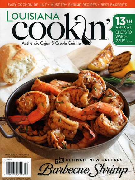 Louisiana Cookin' Cover - 9/1/2014