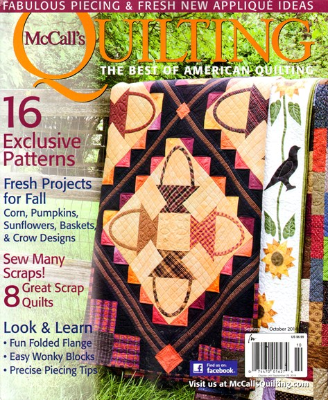 McCall's Quilting Cover - 9/1/2014