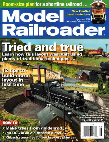 Model Railroader Cover - 9/1/2014