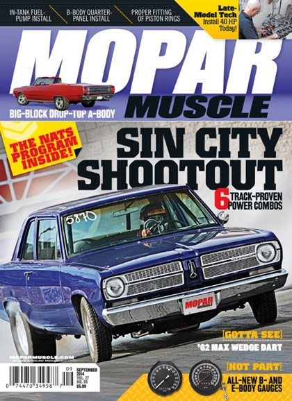Mopar Muscle Cover - 9/1/2014