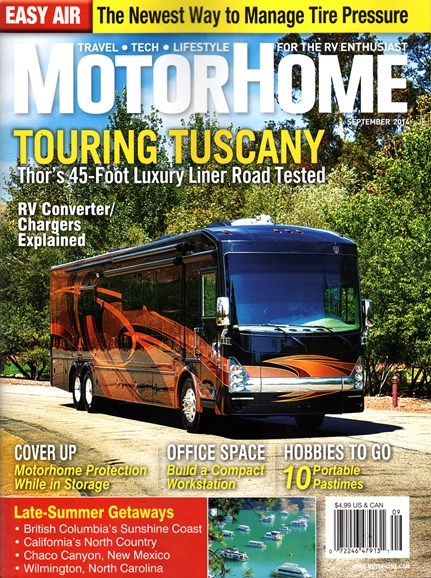 MotorHome Cover - 9/1/2014