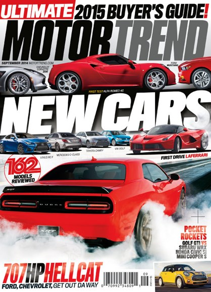 Motor Trend Cover - 9/1/2014
