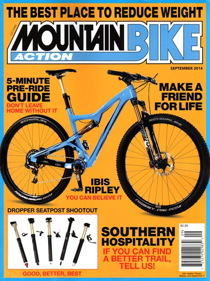 Mountain Bike Action Cover - 9/1/2014