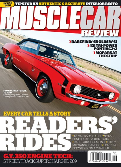 Muscle Car Review Cover - 9/1/2014