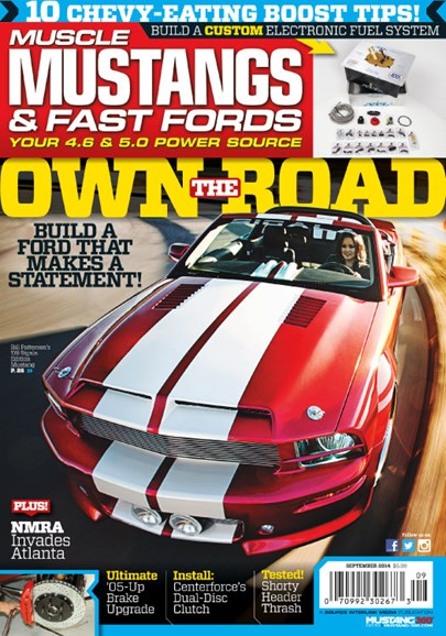 Muscle Mustangs & Fast Fords Cover - 9/1/2014