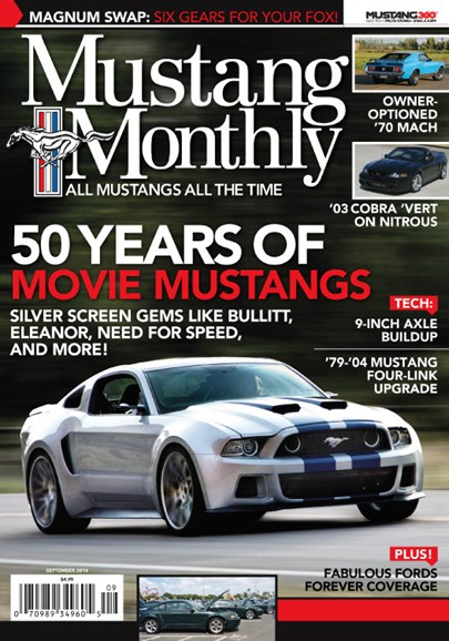 Mustang Monthly Cover - 9/1/2014