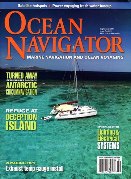 Ocean Navigator Cover - 9/1/2014