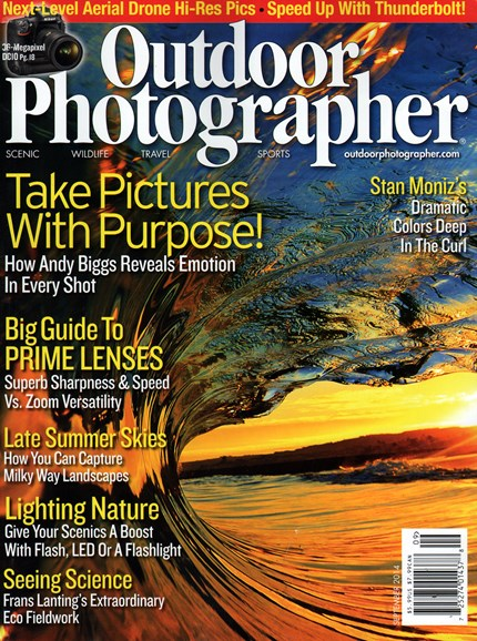 Outdoor Photographer Cover - 9/1/2014