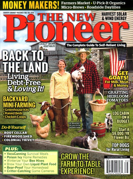 The New Pioneer Cover - 9/1/2014