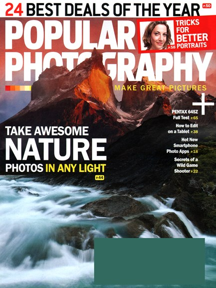 Popular Photography Cover - 9/1/2014