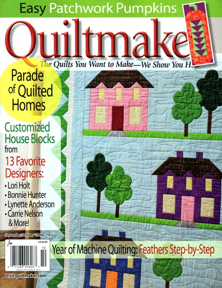 Quiltmaker Cover - 9/1/2014