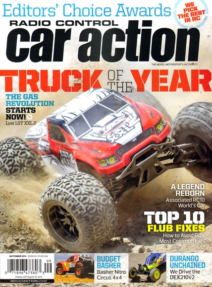 Radio Control Car Action Cover - 9/1/2014