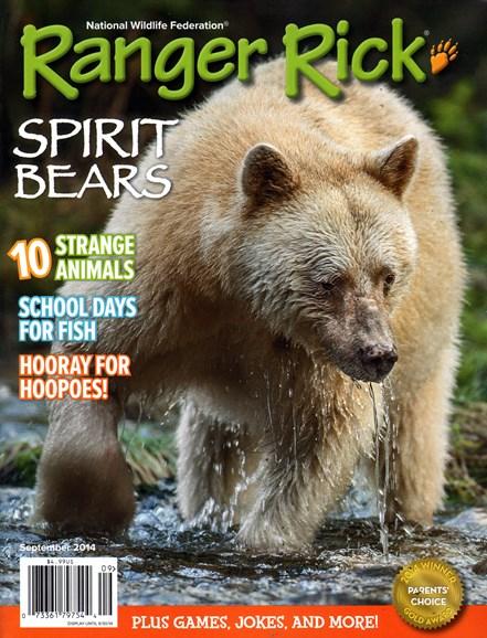 Ranger Rick Cover - 9/1/2014