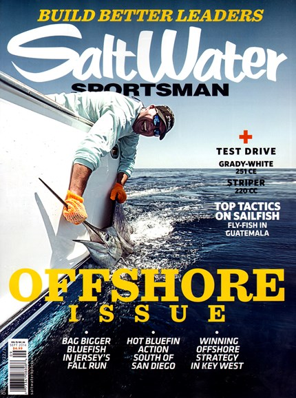Salt Water Sportsman Cover - 9/1/2014