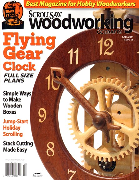 Scroll Saw Woodworking & Crafts Cover - 9/1/2014