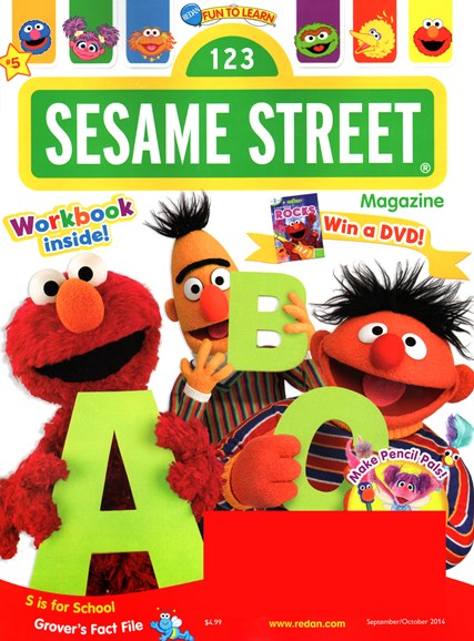 Sesame Street Cover - 9/1/2014