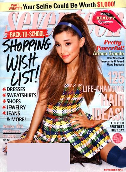 Seventeen Cover - 9/1/2014